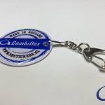 Combiflex doming sleutelhanger