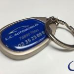 L.C. Automobiles sleutelhanger